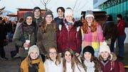 Rahel Werder, David Wetter, Nadine Roth, Leandro Eberle, Lena Thoma, Marina Ramsauer (hintere Reihe von links). Audrey Räss, Eliane Brägger, Celine Rüegg, Laura Cerasuolo und Valérie Hirt (vordere Reihe von links). (Bilder: PD)