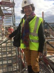 Marianne Mettler kümmert sich nach ihrem Rücktritt aus dem Stadtparlament künftig um andere Baustellen, wie hier beim Universitätsspital Zürich, wo sie als Leiterin Betriebswirtschaft arbeitet. (Bild: PD)