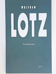 Die Titelseite des Vexer-Bändchens von Lotz und Müller. (Bild: pd)