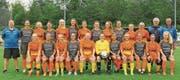 Im Laufe der Vorbereitungen standen sich die B-Juniorinnen und die 2.-Liga-Frauen in einem internen Testspiel gegenüber. (Bild: Walter Züst)