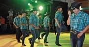 Immer wieder ein begeisterndes Highlight am Country City Toggenburg: Die Country Dancers Toggenburg. (Bild: Michael Hug)