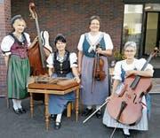 Das Quartett spielt am Konzert Musik aus anderen Landesteilen und auch Ländern. (Bild: pd)