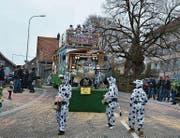 Die Gäste aus Gähwil setzten sich für den Erhalt der Kuhglocken ein. (Bilder: Beat Lanzendorfer)
