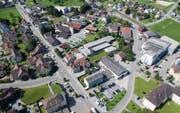 Im Dorfkern von Arnegg soll ein Gebiet entstehen, in dem Wohnen und Arbeiten im Vordergrund steht. (Bild: Benjamin Manser)