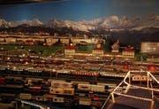 Das Herzstück der Erlebniswelt Toggenburg ist eine 40 mal 12 Meter grosse Modelleisenbahn in Spur 0. (Bild: Angela Hess)