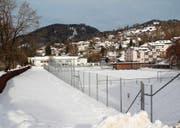 Auf diesem Areal soll die neue Kanti Wattwil erstellt werden. Das Areal liegt im Kataster belasteter Standorte. (Bild: Martin Knoepfel)