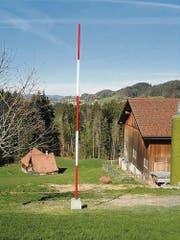 Geometer-Denkmal im ausserrhodischen Teufen, Dietenschwendi. (Bild: H. R. Fricker)