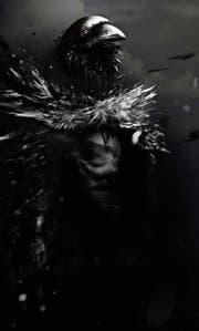 Sagen- und zauberhaft geht es in der «Krabat»-Geschichte zu und her. Unter anderem wird der Waisenjunge in einen Raben verwandelt. Dieses Motiv ziert das Plakat, das auf das Freilichtspiel hinweist. (Bilder: PD)