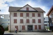 """Der """"Freihof"""" im Mörschwiler Dorfzentrum wird saniert. (Bild: Ralph Ribi (Ralph Ribi))"""