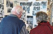 Faszination pur: die Ausstellung von Bildern, die der Flawiler Fotograf Pius Walliser hinterlassen hat.