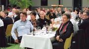 Die Gäste: 180 Gratulantinnen und Gratulanten kamen zum 75. Geburtstag der Grabher Indosa AG. (Bilder: Samuel Tanner)