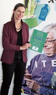 Hélène Spielhofer, Präsidentin Spitex Mittleres Toggenburg, präsentiert mit dem Spitex-Team und vielen Beratungs- und Betreuungsstellen bald eine breitgefächerte Tischmesse. (Bild: Patricia Wichser)