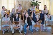 Die Kandidatinnen beim Startanlass der Frauennetz-Kampagne. (Bild: pd/Frauennetz Gossau)