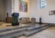 Gutes Bauen in der Ostschweiz, Kirchenumbauten von Architekt Bruno Bossard in Niederwil und Flawil. (Bild: Hanspeter Schiess)