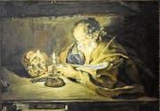 «Der Heilige Petrus bei der Lektüre» von Giovanni Serodine ist derzeit im Historischen und Völkerkundemuseum ausgestellt. (Bild: PD)
