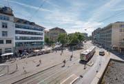 Dank der Partizipation Direktbetroffener soll die Neugestaltung von Marktplatz, Bohl und Blumenmarkt nun gelingen. (Bild: Urs Bucher)