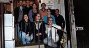 Zwei neue Mitglieder bereichern den Vorstand: (hinten von links) Alexis Frischknecht, Reinhold Giger, Nicole Frey, Andreas Tauber, Maria Raschle, Martin Keller, (vorne) Daniela Brunner, Regula Roth, Heidi Frei. (Bild: PD)