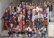 Von klein bis gross: Rund 30 Kinder haben während einer Woche täglich musiziert und laden nun zum Schlusskonzert ein. (Bild: PD)