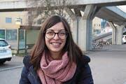 Areti Okle, 34, Sachbearbeiterin, Wittenbach (Bild: Matthias Fässler)