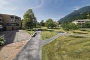 Gutes Bauen Ostschweiz: Dorfpark Triesen FL (Bild: Hanspeter Schiess)