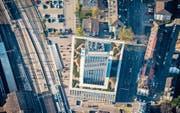 Die Fachhochschule ist laut Stadtpräsident Thomas Scheitlin nur einer von vielen innovativen Neubauten im Zentrum. (Bild: Urs Bucher)