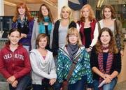 Die Gruppe der Klasse 2a vom Oberstufenzentrum Kleewies belegt einen der beiden 1. Ränge. (Bilder: Monika von der Linden)