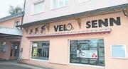 Das Fachgeschäft wurde unter dem Namen «Velo Senn» geführt.
