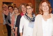 Der Vorstand der Katholischen Frauengemeinschaft hat mit Beate Meile (2. v. r.) eine neue Co-Präsidentin, die das Amt von Yvonne Cusinato (r.) übernommen hat. (Bild: pd)