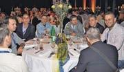 Freude herrscht auch an den Tischen der Mitarbeitenden der Rino Weder AG. (Bilder: René Jann)