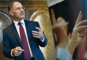 Ethos-Präsident Dominique Biedermann zieht eine gemischte Bilanz punkto Aktionärseinfluss an Generalversammlungen. (Bild: Walter Bieri/KEY)