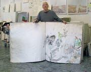 Die letzte Ausstellung von Tone Fink in der Schweiz liegt schon Jahrzehnte zurück. (Bild: pd)