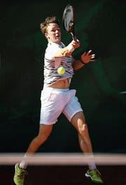 Adrian Bodmer will seine Fortschritte im Training auch in den Spielen umsetzen. (Bild: Freshfocus)