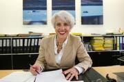 Stadträtin Barbara Eberhard, Vorsteherin der Direktion Schule und Sport, kandidiert nicht mehr für eine Wiederwahl. (Bild: Ralph Ribi)