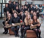 Die Big Band der Kantonsschule Wattwil eröffnet den Konzertzyklus 2018. (Bild: PD)