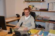 Magnus Brändle, Kirchberger Gemeinderatsschreiber. (Bild: Beat Lanzendorfer)