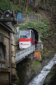 Während der Sanierung des Tunnels fällt der Bahnbetrieb mindestens ein halbes Jahr aus. (Bild: Michel Canonica)