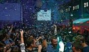 750 Feierfreudige werden übermorgen Sonntag an der «1ce Cube»-Party in der Mehrzweckhalle Häggenschwil erwartet. (Bild: PD)