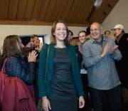 Mit Sonja Lüthi zieht erstmals ein Mitglied der Grünliberalen in den Stadtrat ein. Die Partei erhofft sich davon Aufwind. (Bild: Ralph Ribi)