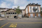 Das Spanische Klubhaus und das Nachbargebäude in der Lagerstrasse könnten an die Stadt gehen. Diese will dort eine Gesamtüberbauung. (Bild: Urs Bucher)