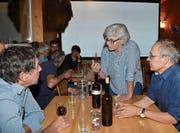 Was gilt es beim Bioweinbau zu beachten? Referentin Ursula Graf Frei teilte ihr Fachwissen mit dem Verein Balger Natur. (Bild: pd)
