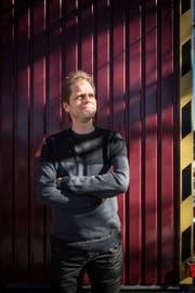 Er wartet darauf, bis die Saison endlich losgeht: Martin Sailer vom Zeltainer. (Bild: Benjamin Manser)