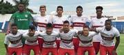 Die U19-Mannschaft des dreifachen brasilianischen Meisters Sport Club Internacional bereichert das Altstätter Nachwuchsturnier mit südamerikanischem Flair. (Bild: pd)