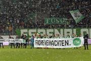 Starker Rückhalt, modernes Stadion - der FC St.Gallen hat viel, was es braucht, um mehr als ein Mitläufer zu sein. (Bild: Gonzalo Garcia (EQ Images))