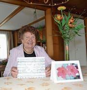 Klärli Schlegel singt seit jeher in der Stimmlage Alt. Sie war 17 Jahre Präsidentin des Evangelischen Kirchenchors Mittleres Toggenburg und ist bald 50 Jahre im Verein tätig. (Bild: Adi Lippuner)