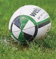 Das Spielgerät im Rugby. (Bild: Urs Bucher (Urs Bucher))