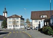 Das Zentrum von Kirchberg, wie es sich heute präsentiert. (Bild: Beat Lanzendorfer)