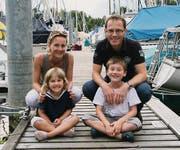 Familie Eilinger auf Wochenendausflug.