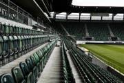 Die Reihen in der Belegschaft des FC St.Gallen lichten sich. (Bild: Mareycke Frehner)