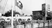 1946 erreichte eine Hilfslieferung der Ostschweizer Grenzlandhilfe die Hafenstadt Friedrichshafen. (Bild: Staatsarchiv St. Gallen)