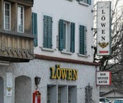Beim «Löwen» steht ein Mieterwechsel an. Ab April führt Thomas Bösch das Restaurant. (Bild: Kurt Latzer)